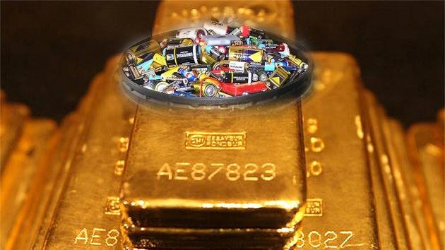 Crean una empresa para convertir la chatarra electrónica en oro