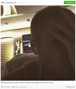 Justin Bieber se tatuó la cara y sus fanáticas no están contentas
