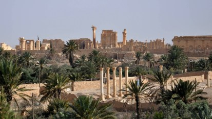 SYRIA-CONFLICT-PALMYRA-HERITAGE