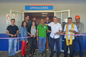 Ioannis Moutafis junto a Leonardo Peralta, Sec. Gral. SUTRAFADO