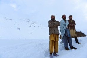 TOPSHOTS-AFGHANISTAN-AVALANCHE-ACCIDENT