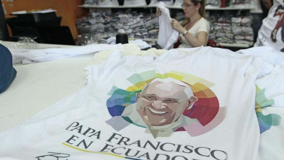 ECUADOR-POPE-VISIT-PREPARATIONS