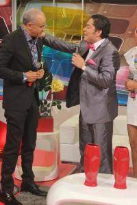 Roberto Rodríguez conversa con El Pachá
