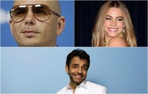 Pitbull, Vergara y Derbez tendrán estrellas en 2015