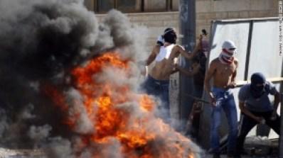 enfrentamientos en israel