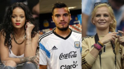 La mujer de Sergio Romero le prestará su esposo a Rihanna si Argentina gana el Mundial