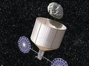 Para poder traerlo a la Tierra, se utilizarían impulsores eléctricos y de energía solar.