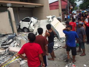 Un terremoto de 6,4 grados de magnitud golpea el sur de Filipinas