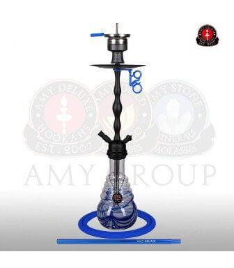 Amy Glorious Blue matt black