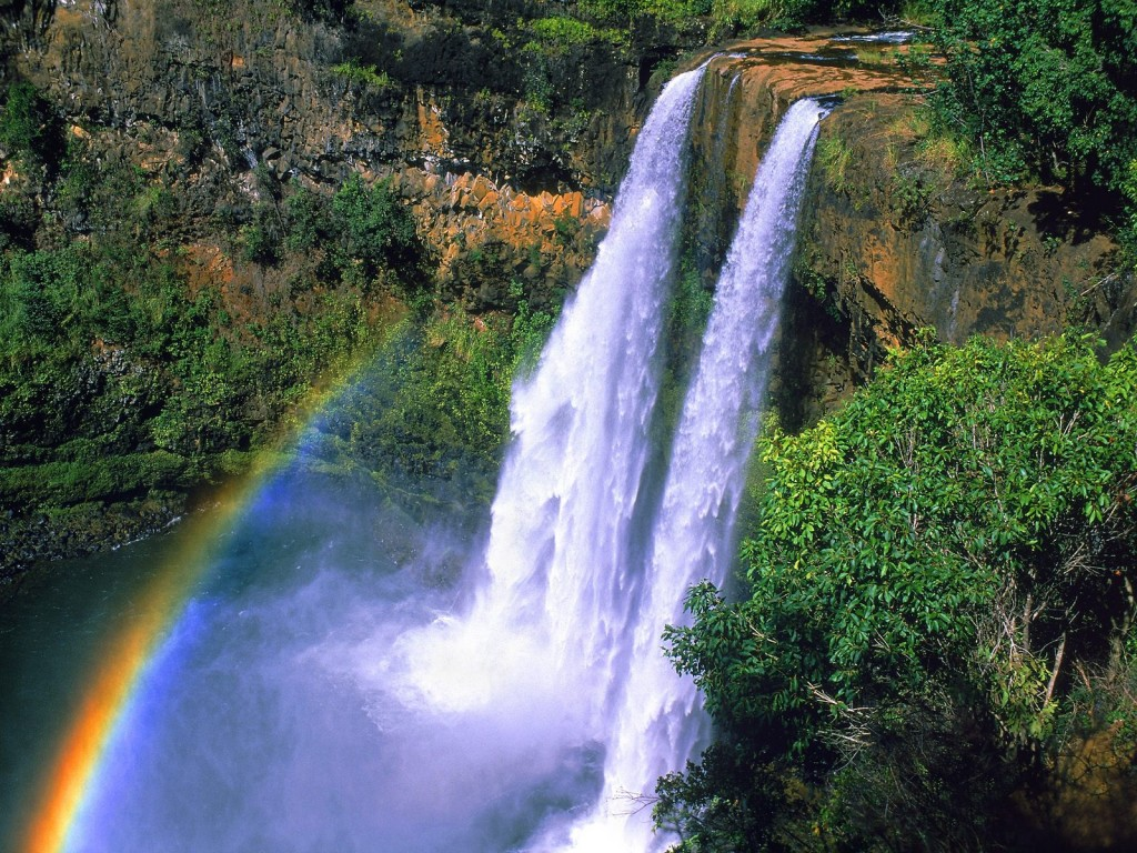 Rainbow Falls Hawaii Wallpaper Wanderlusts Explore Kauai Cacique Tribe