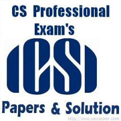 cs professional exam papers