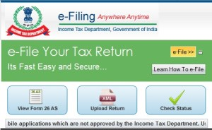 file income tax return incometaxindiaefiling.gov.in