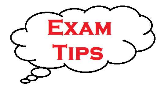 tips for exams image