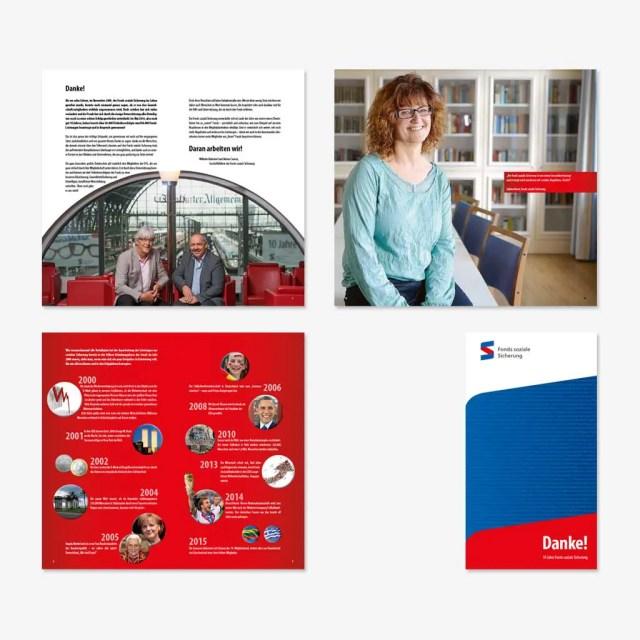 Fonds soziale Sicherung: Jubiläumsbroschüre