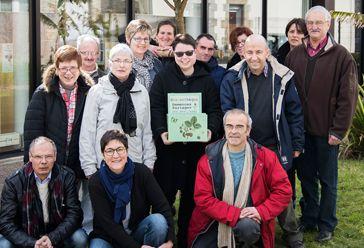 Christophe, Patricia, Michaël, Cyrille, René, Alain et Aurélie, équipe grainothèque