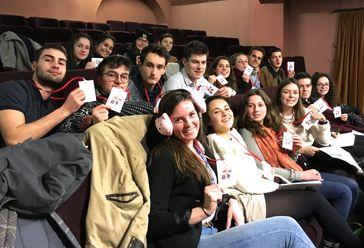 Lycéens du lycée Saint-Sauveur