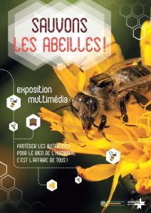 Exposition «Sauvons les abeilles» @ Médiathèque