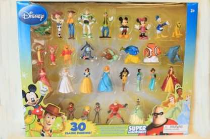 30 Piece Classic Figurines Disney Assorted