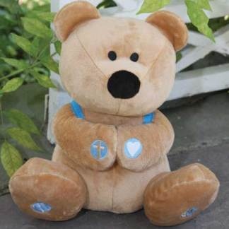 Plush Prayer Bear Bible toys and games
