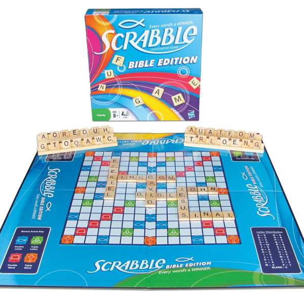 Scrabble Bible board game