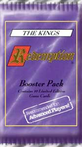 Redemption The Card Game The Kings Booster Pack