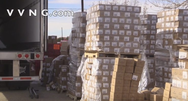 Truck headed for Canada busted with $11 million worth of heroin in Hesperia