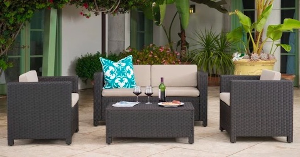 Target has a huge patio furniture sale happening on its