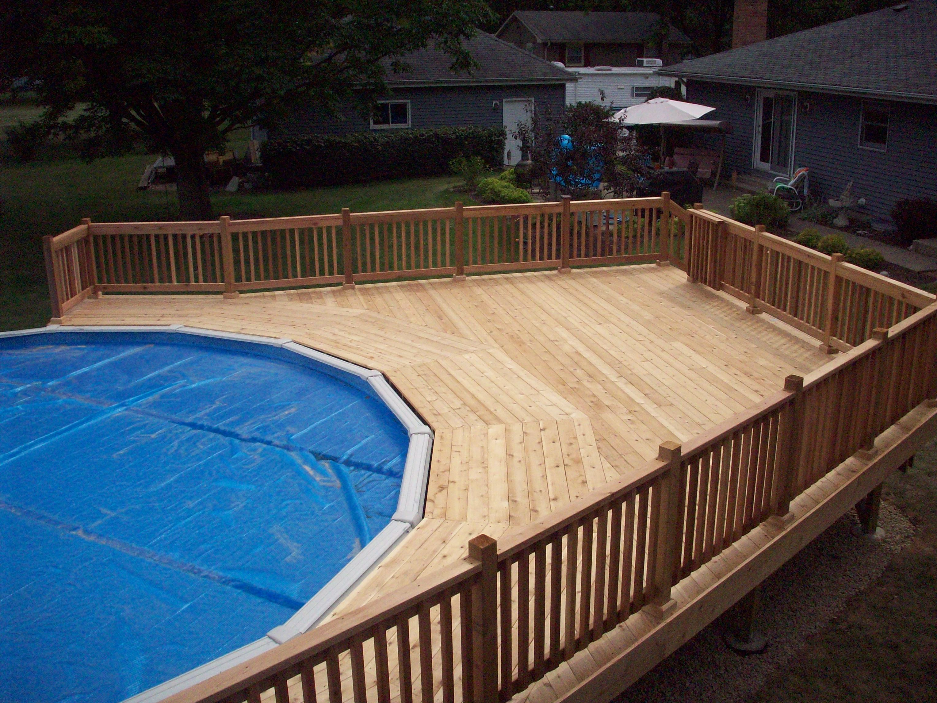 Decks C A Custom Woodworking Inc