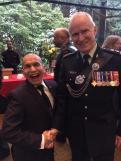 Stephen Lytton and Governor General David Johnston.