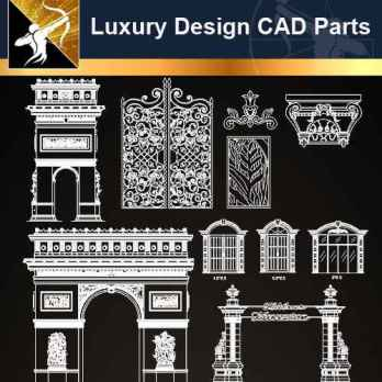 Luxury Design CAD Blocks