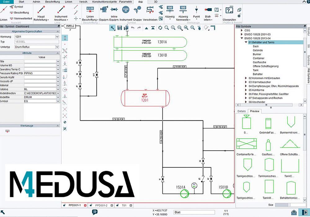 Software Pid Per Diagrammi Di Flusso Intelligenti Medusa4