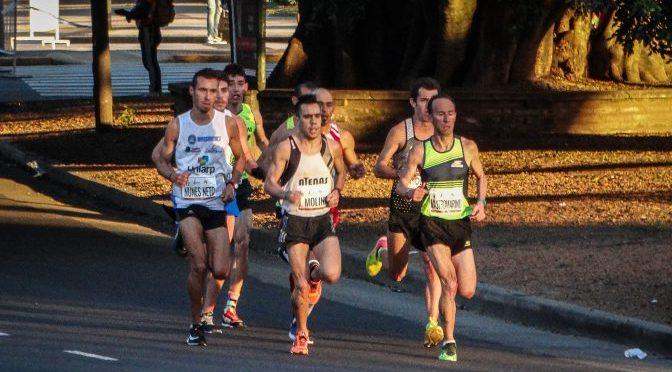 La Argentina y su equipo para el Sudamericano de Maratón