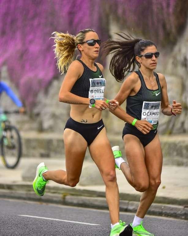 Con el 21k, Florencia Borelli coronó una gran temporada 12