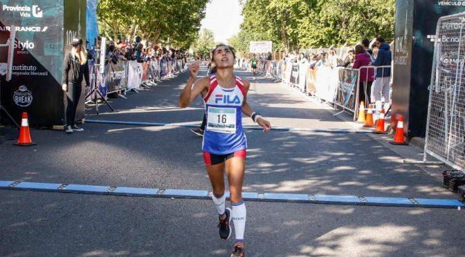 Federico Bruno y María Ovejero ganaron el Nacional de 10k