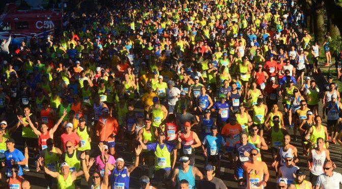 Todo listo para el Maratón de Buenos Aires