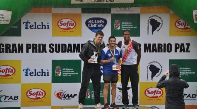 Los velocistas argentinos y Levaggi ganaron en Bolivia