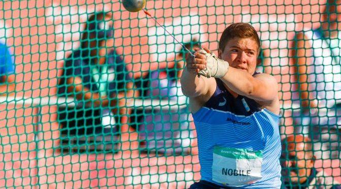 Julio Nóbile terminó 8° en martillo