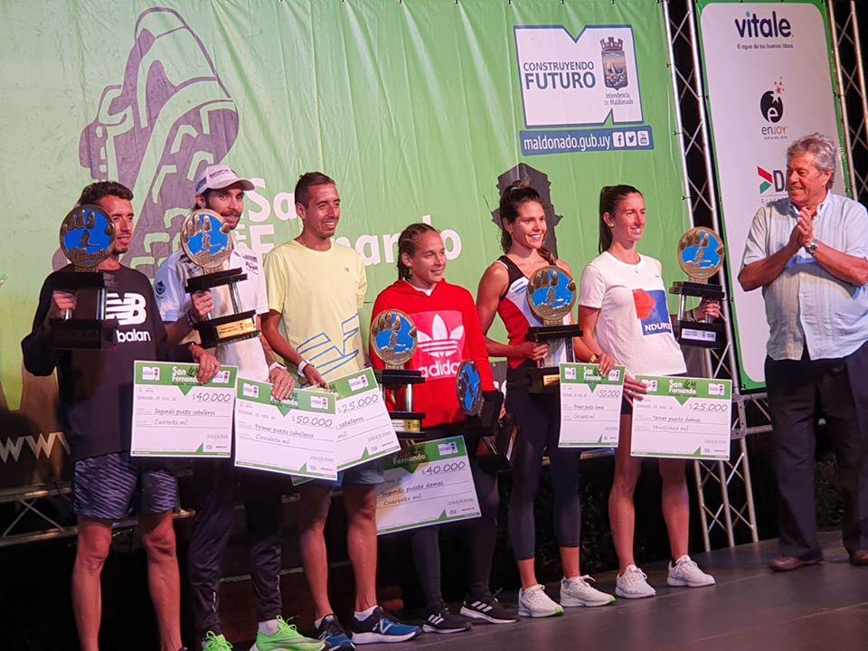 Bruno y Fedra Luna ganaron en Uruguay 5