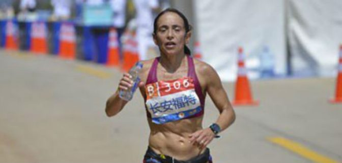 Valeria Sesto lució en el Mundial de 100 km