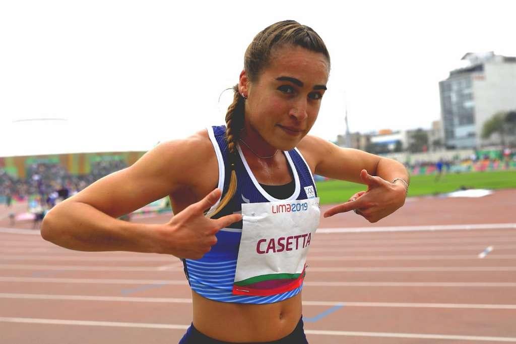 La medalla argentina, con Casetta 1
