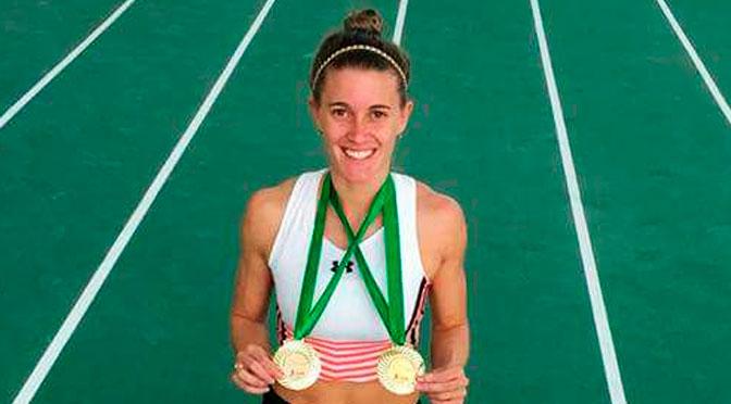 Woodward y Cossio, con récords nacionales en 100m en Cochabamba