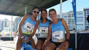 Argentina segundo en el podio por equipos en Montevideo 1