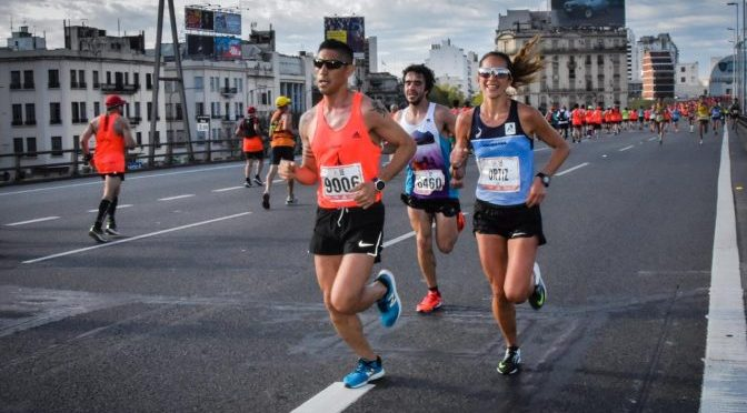 Miguel Bárzola y Mariela Ortiz brillaron entre los argentinos