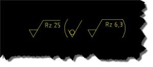 MCAD Oberflächenzeichen 02