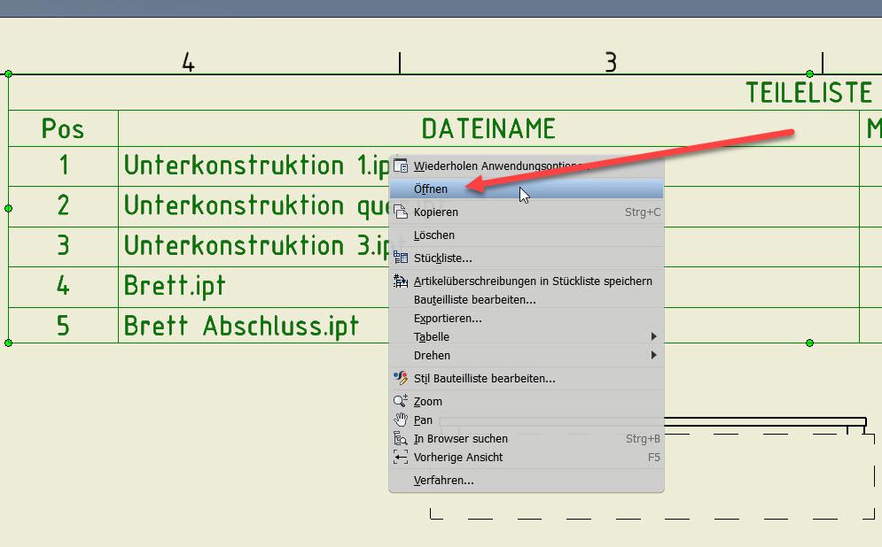 Teileliste-bauteil-aus-kontextmenue-oeffnen
