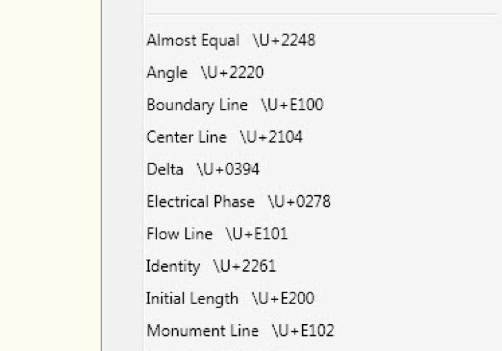 Autocad Single Line Text