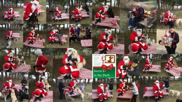 Santa's in the Park