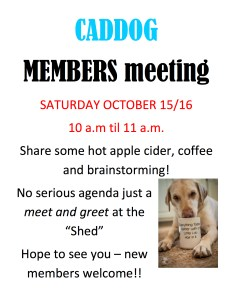 CADDOG Meet and Greet