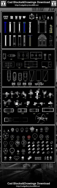 Landscape Design 2D Blocks】AutoCAD Blocks   AutoCAD Symbols