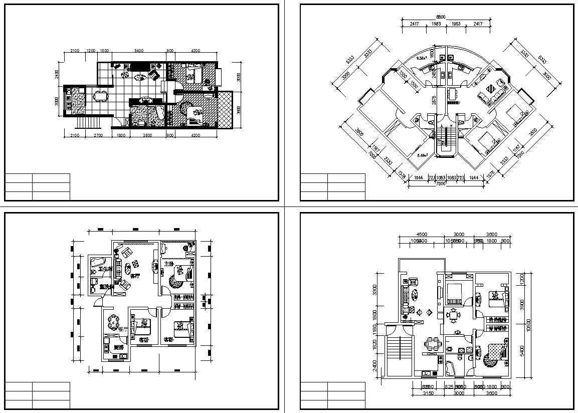 Residential Construction Drawings Bundle Download Cad